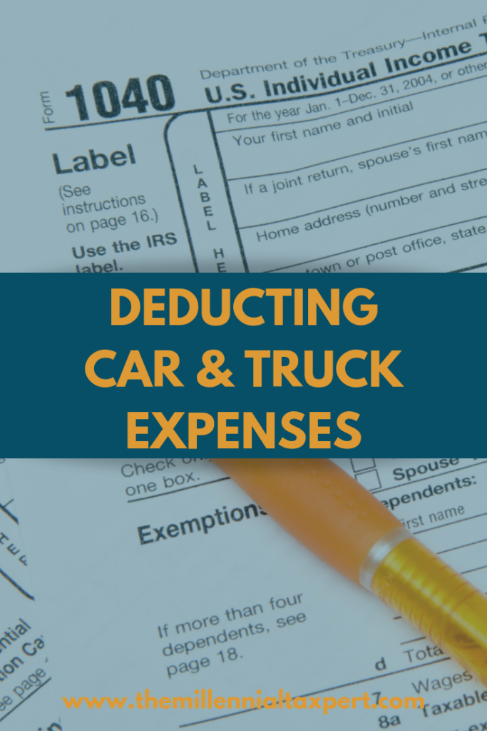 Car and Truck Expense Deduction - Deducting the Business Use of Your Vehicle