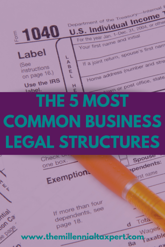 5 Most Common Business Legal Structures
