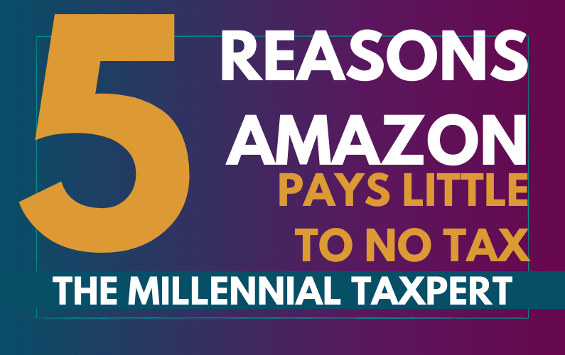 OMG… AMAZON DOESN'T PAY TAX?!