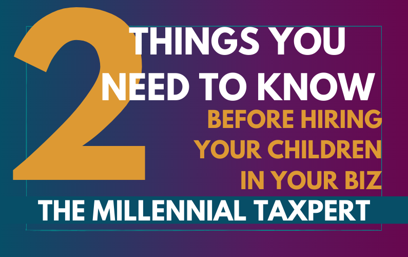 What You Need to Know Before Hiring Your Children