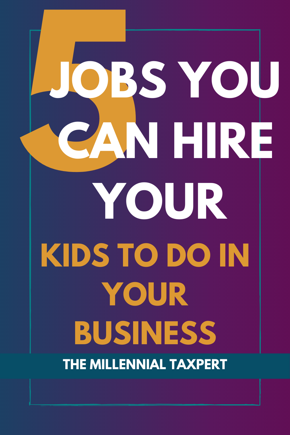 Pinterest image: 3 mistakes to avoid when hiring your children in your biz