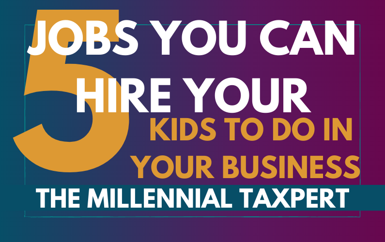5 Jobs You Can Hire Your Kids to Do