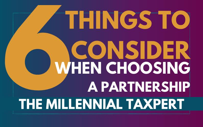 Choosing a Partnership | 6 Things to Consider